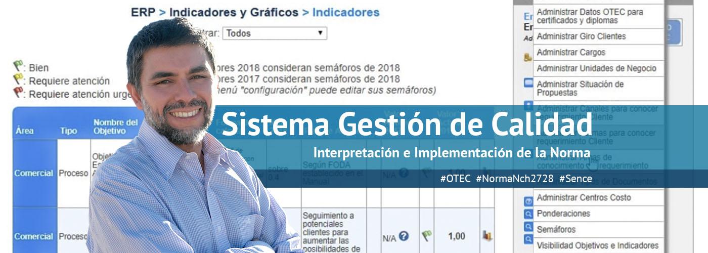 Serie Sistema Gestión De Calidad OTEC