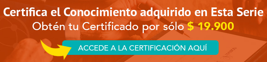 Certificación Curso Norma Nch 2728
