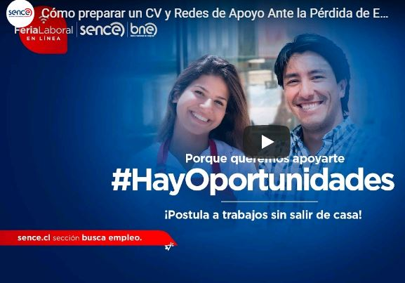 ¿En búsqueda de nuevas oportunidades laborales?